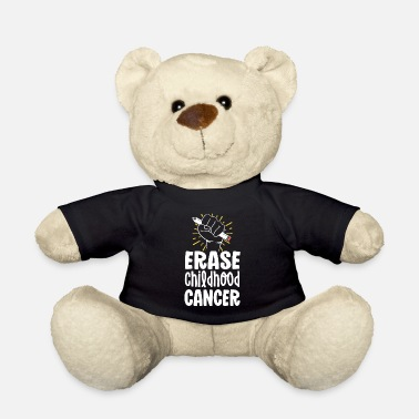 Kämpfer Childhood Cancer Awareness Shirts löschen Kindheit - Teddybär