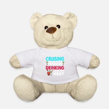 Read 1st Cruise Party design Cruising Anf Drinking Gift - Teddy Bear