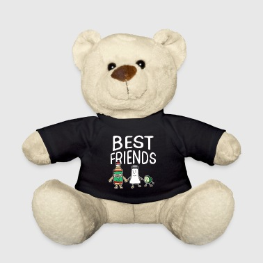 Best Friends of Three Tequila Best Friends Salt Lime Squad - Teddy Bear