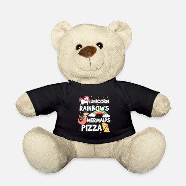 Glitter Unicorn Shirt · Unicorn · Unicorns · Glitter Pizza - Teddy Bear
