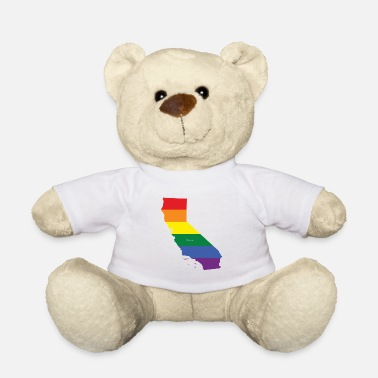 California Rainbow Flag - Teddy Bear