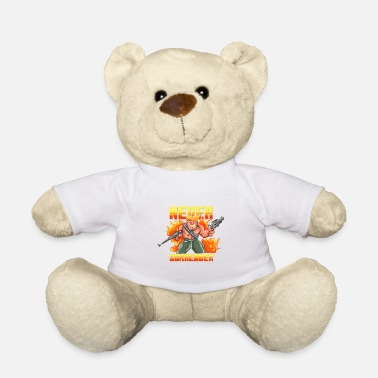 Soldier Of Fortune Soldier of Fortune Game Retro - Teddy Bear