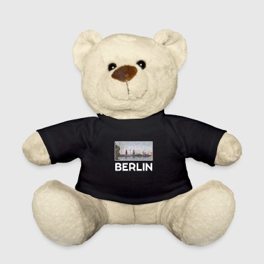 Alexanderplatz Berlin city skyline landmark - Teddy Bear