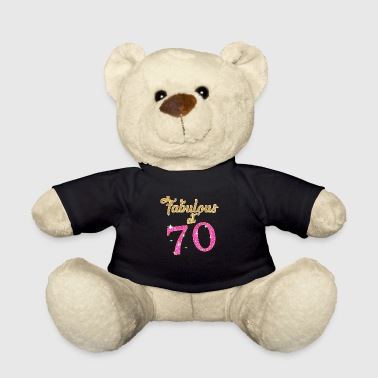 Fabulous at 70 - Teddy Bear
