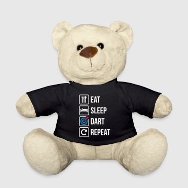 Eat Sleep Dart Repeat - Teddy Bear