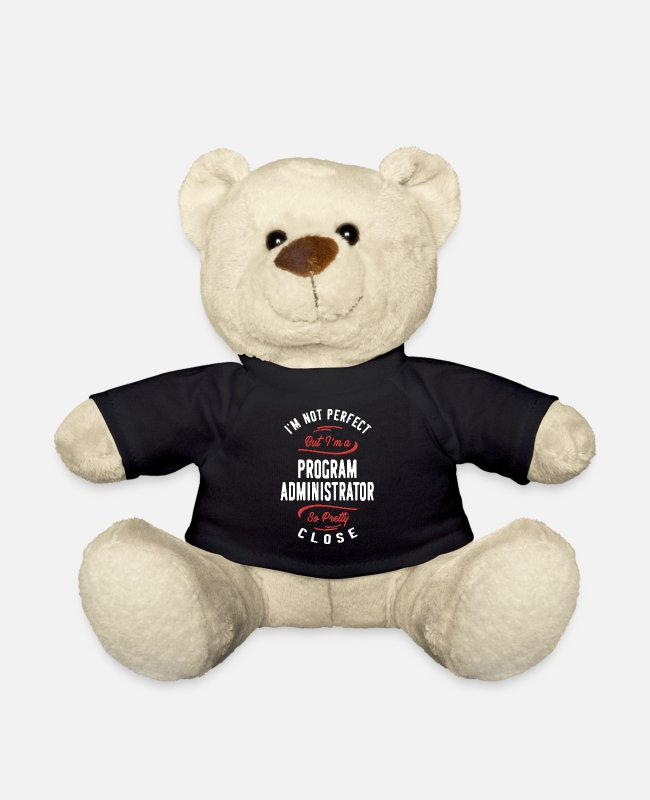 Programmemer Teddy Bear Toys - Program Administrator - Teddy Bear black