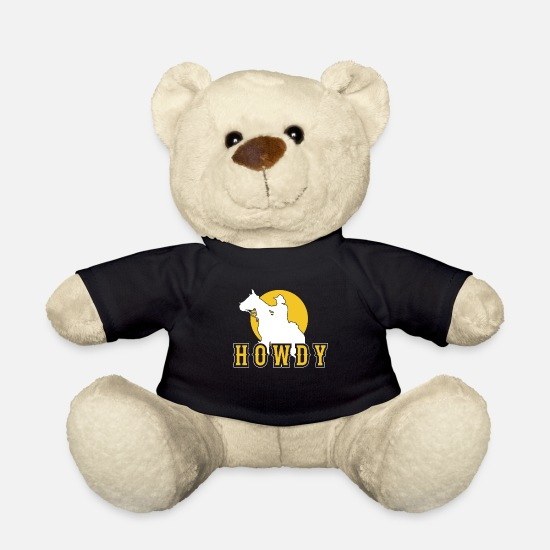 Gift Idea Teddy Bear Toys - rodeo - Teddy Bear black