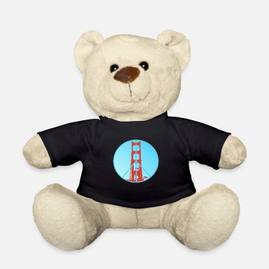Golden Gate Peace - Teddybär