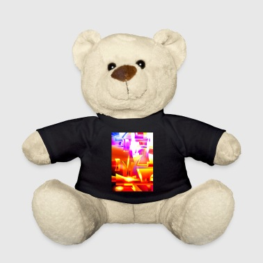 Suit Of Armor Golden Angelic Armor (Digital Abstract Art) - Teddy Bear
