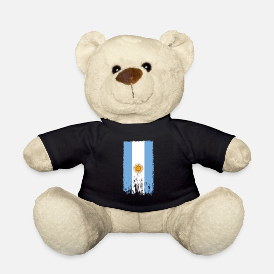 South America Teddy Bear Toys - Argentina - Teddy Bear black