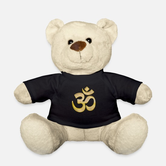 Arthawk Teddy Bear Toys - om Gold - Teddy Bear black
