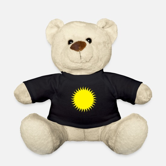 Heat Teddy Bear Toys - Sun - Teddy Bear black