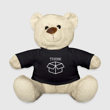 Box think gift scientist funny cardboard - Teddy Bear