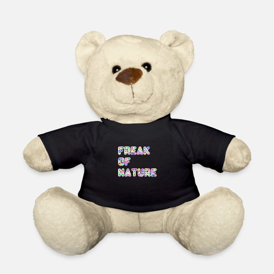 Cadeauidee Knuffeldieren - Freak of Nature - Teddybeer zwart