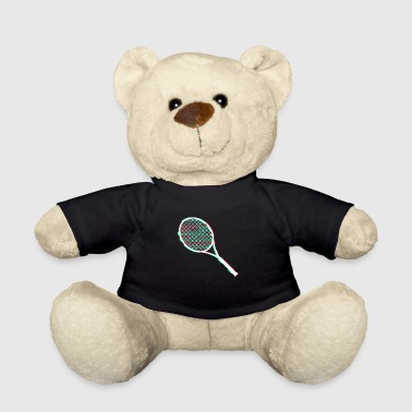 tennis racket - Teddy Bear