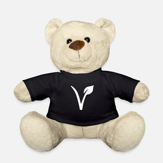 Vegan Teddy Bear Toys - VEGAN - Teddy Bear black