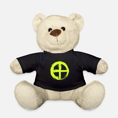 Astronomical Symbol Astronomical symbol planet Earth symbol - Teddy Bear
