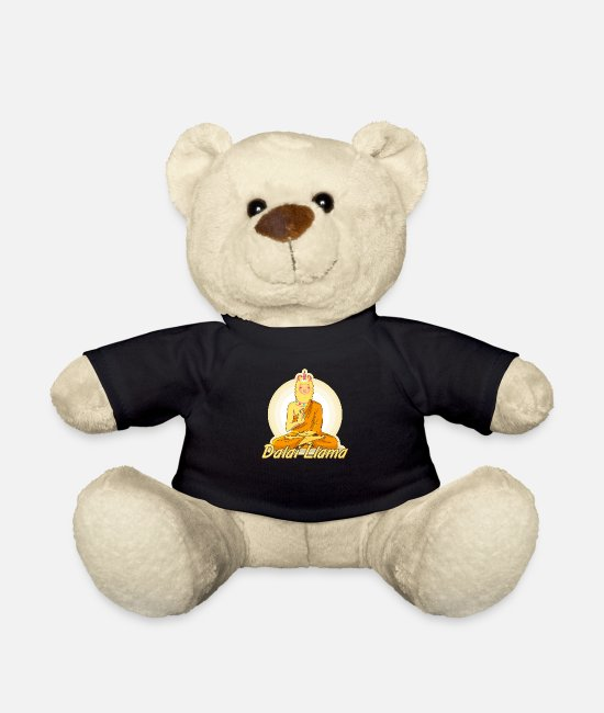 Tibeth Teddy Bear Toys - Dalai LLama - Teddy Bear black