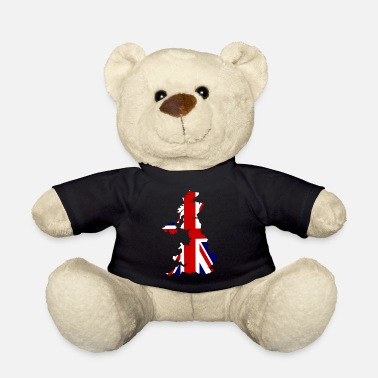 Essex UK Map Flag - Teddy Bear