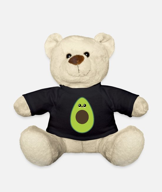 Avocado Teddy Bear Toys - Trend avocado - Teddy Bear black
