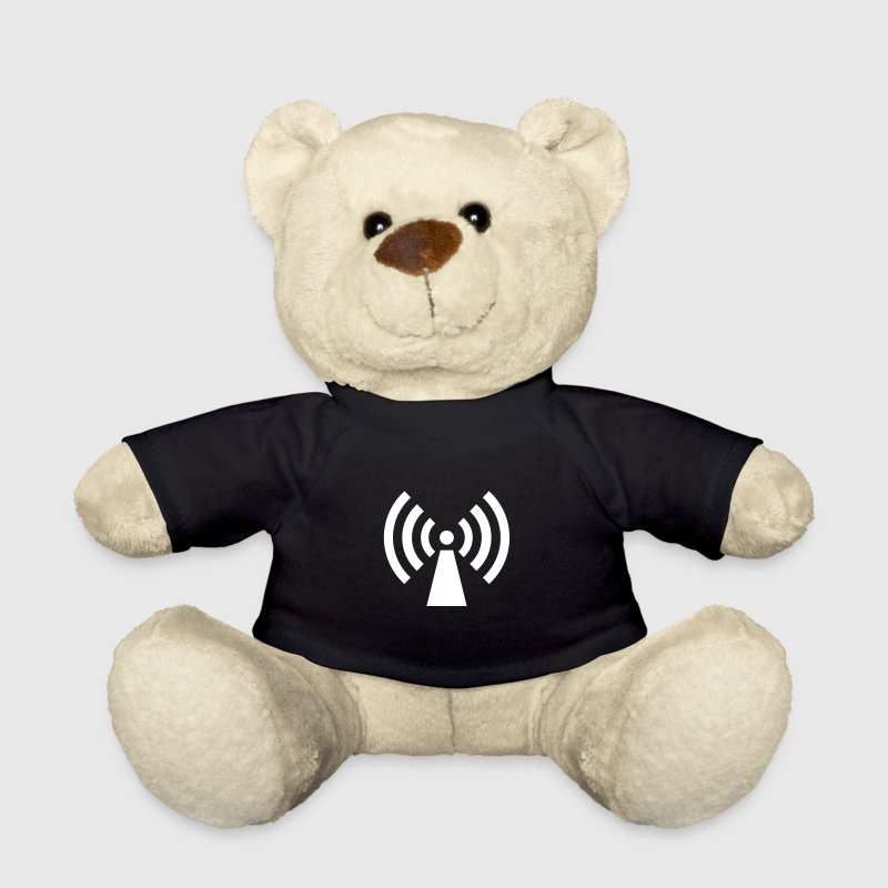 radio / wifi / wireless / signal  - Osito de peluche