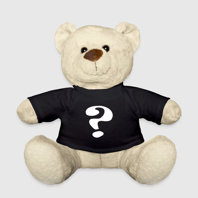 questionmark / Fragezeichen / point d'interrogation / ? - Teddy Bear