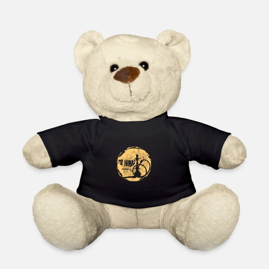 Shisha Teddy Bear Toys - MY HOBBY! - Teddy Bear black