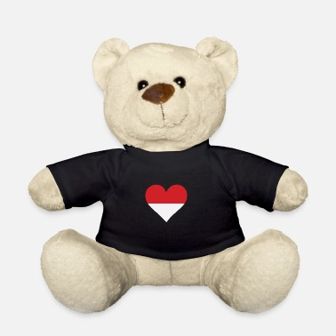 Indonesia A Heart For Indonesia - Teddy Bear