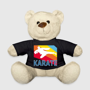 Retron Vintage Style Karate Martial Arts Fighter - Teddy Bear