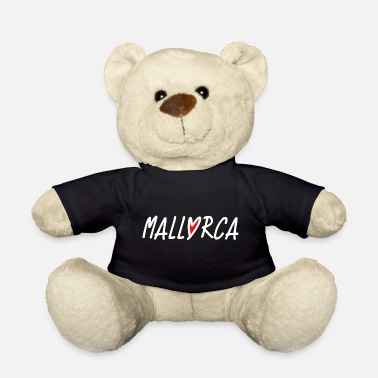 Mallorca Mallorca Love Heart - Dream of Mallorca - Teddy Bear