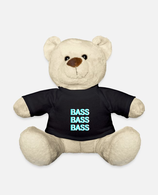 Bass Bamser - Bass Bass Bass - Techno Raver - Bamse sort