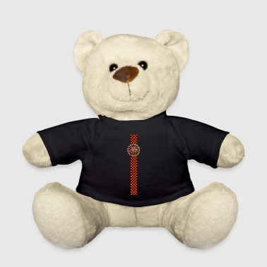 ska music orange black band design - Teddy Bear