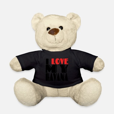 Havana i love my havana brown cat shirt - Teddy Bear
