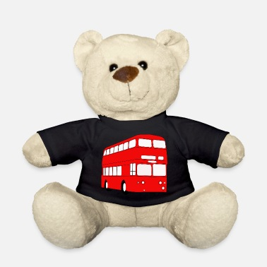 Essex Double Decker Red Bus - Teddy Bear