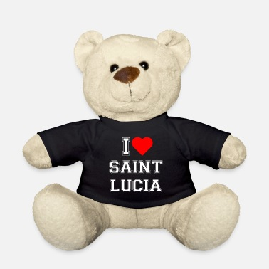 Saint Lucia I love Saint Lucia - Teddy Bear
