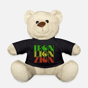 Zion Iron Lion Zion - Teddy Bear