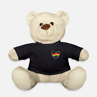 Lgbt Rainbow heart | Gift Idea | LGBT - Teddy Bear