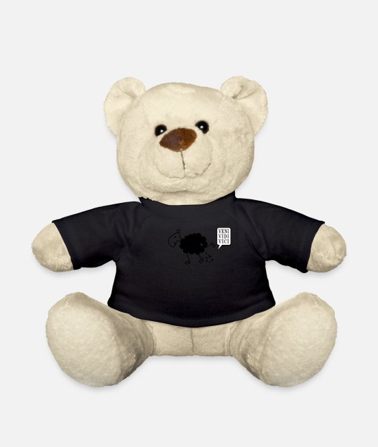 Pee Teddy Bear Toys - Schwarzes Schaf Pisser / Sheep in wolf's clothing - Teddy Bear black