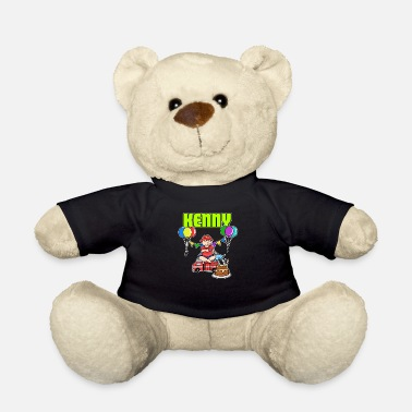 Kenny Fire Department Kenny Gift - Teddy Bear