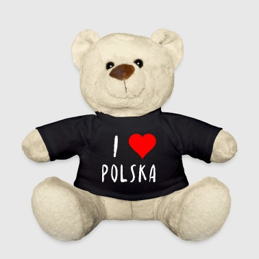 Polish I love Polska Poland Polish gift idea - Teddy Bear