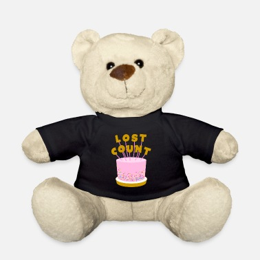 Birthday Lost Count Birthday Cake - Teddy Bear