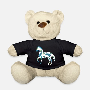 Cowboy horse horse riding Cowboy Girl Pony Gaul Feed mädc - Teddy Bear