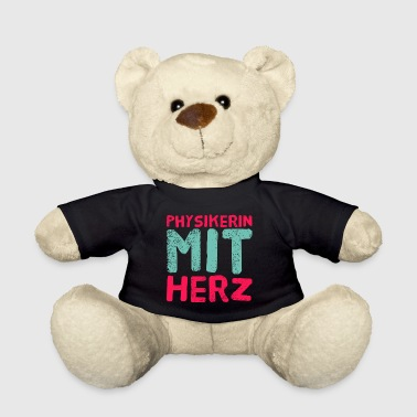 Physicist with heart - gift for physicist - Teddy Bear