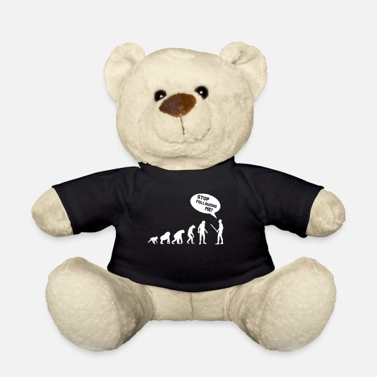 Evolution Teddy Bear Toys - EVOLUTION - Teddy Bear black