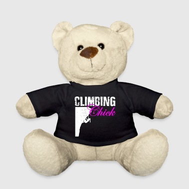 Rock Climbing Chick - Teddy Bear