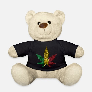 Rasta Rasta Leaf - Teddy Bear