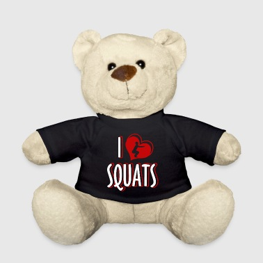 Push Up Squats gym exercise gift weight training squats - Teddy Bear