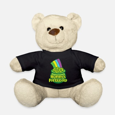 Day Gouden St. Patrick's Day cadeau Mama Mama moeder - Teddybeer