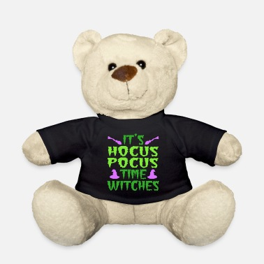 Day Of The Week It's A Time Tee Saying It's Hocus Focus Time - Teddy Bear