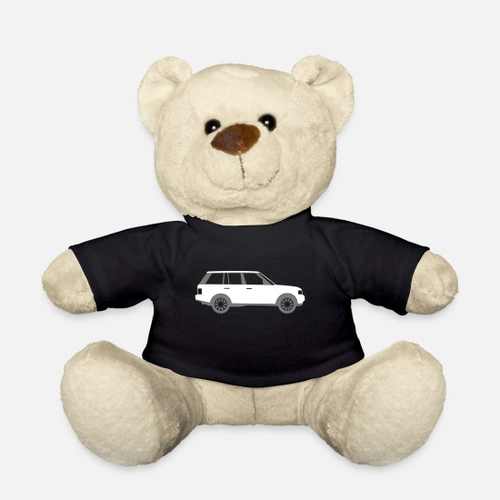 Symbol  Teddy Bear Toys - Sports Utility Vehicle - Teddy Bear black